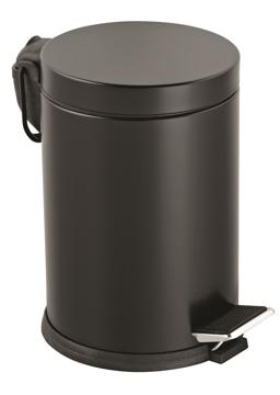 Resim Lalezar 12 Lt Çöp Kovası Siyah