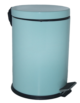 Resim Lalezar 16 Lt Çöp Kovası Mint Yeşili