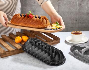 Resim Polo Chef Ebru Granit Döküm Kek Kalıbı 33Cm