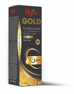 Resim Agiss Tüy Dökücü Krem 100Ml Gold