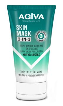 Resim Agiva 3İn1 150Ml(Temizleme Peeling Ve Maske)
