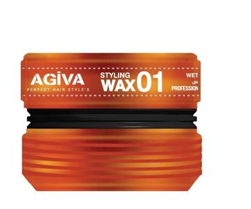 Resim Agiva Wax 175Ml 01 (Islak ) Turuncu-1
