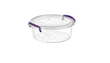 Resim Eco Tonton Plastik Saklama Kabı-1 (250 Ml)