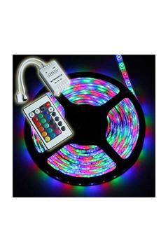 Resim Kumandalı Renkli Şerit Led Işık