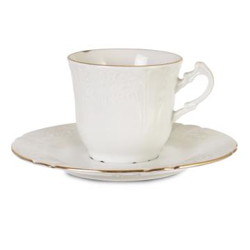 Resim 6'lı Porselen Kahve Takımı